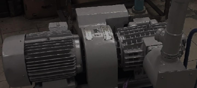 Ремонт вакуумного насоса Becker для ООО «Табак»
